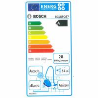 Bosch BGL85Q57 GL-85 In'genius - Étiquette énergie