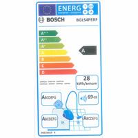 Bosch BGLS4PERF GL-40S Cosyy'y - Étiquette énergie