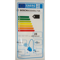 Bosch BGS4SIL73A - Étiquette énergie
