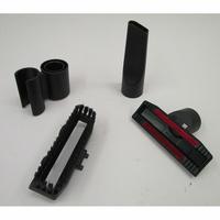 Bosch BGS7MS64 Relaxx'x Ultimate ProSilence64 - 3 accessoires livrés avec l'appareil : brosse à meubles, brosse textile et suceur