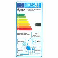 Dyson Cinetic Big Ball Absolute - Étiquette énergie