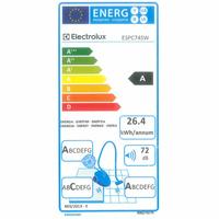 Electrolux ESPC74SW SilentPerformer Cyclonic - Étiquette énergie