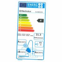 Electrolux EUS8X2CB Ultrasilencer - Étiquette énergie