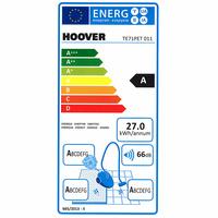 Hoover TE71 PET Telios Plus - Étiquette énergie