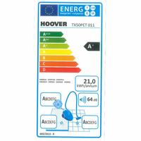 Hoover TX50PET Telios Extra - Étiquette énergie