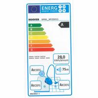 Hoover XP81 XP25 011 Xarion Pro 4A - Étiquette énergie