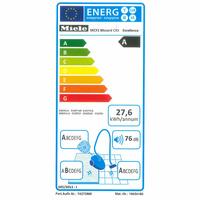 Miele Blizzard CX1 Excellence EcoLine - Étiquette énergie