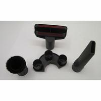 Miele Classic C1 EcoLine SBAP3 - 3 accessoires livrés avec l'appareil : brosse à meubles, brosse textile et suceur