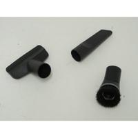 Miele Compact C2 Ecoline - 3 accessoires livrés avec l'appareil : brosse à meubles, brosse textile et suceur