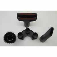 Miele Compact C2 Hardfloor Ecoline SDRP3 - 3 accessoires livrés avec l'appareil : brosse à meubles, brosse textile et suceur