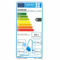 Miele Complete C3 Excellence Ecoline SGSP3 - Étiquette énergie