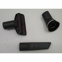 Miele Complete C3 Hardfloor Ecoline SGSP3 - 3 accessoires livrés avec l'appareil : brosse à meubles, brosse textile et suceur