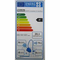 Miele Complete C3 Hardfloor Ecoline SGSP3 - Étiquette énergie