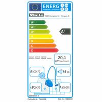 Miele Complete C3 Parquet XL Ecoline SGSP3 - Étiquette énergie