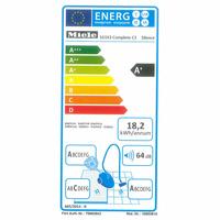 Miele Complete C3 Silence SGSK3 - Étiquette énergie