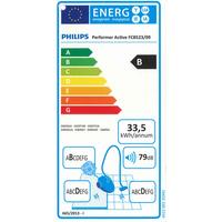 Philips FC8524/09 Performer Active - Étiquette énergie