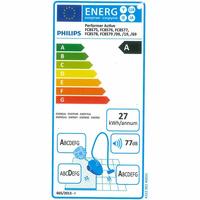 Philips FC8578/09 Performer Active - Étiquette énergie
