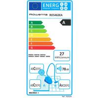 Rowenta RO5463EA X-Trem Power - Étiquette énergie