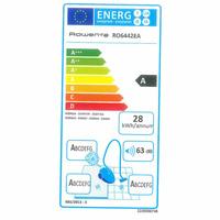 Rowenta RO6442EA Silence Force 4A - Étiquette énergie