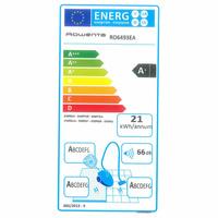 "Rowenta RO6493EA Silence Force 4A+ ""Home & Car"" - Étiquette énergie"
