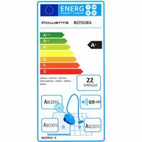 Rowenta RO7353EA Silence Force Home&Car - Étiquette énergie