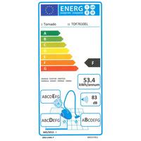 Tornado TOF7610EL Ergoeasy - Étiquette énergie