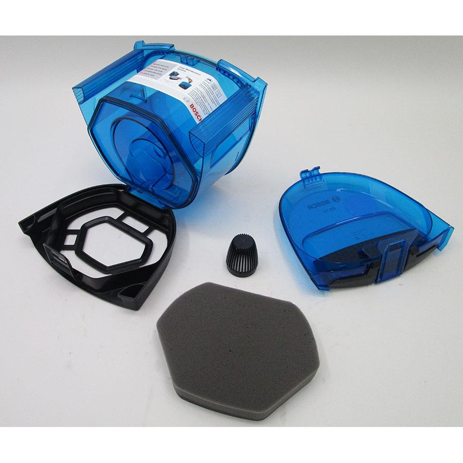 Bosch BGC1U112 Easyy'y GS-10 - Réservoir à poussières avec son filtre
