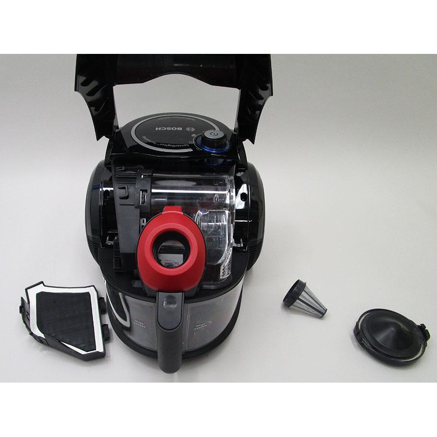Bosch BGC3U330 Relyy'y GS-30 - Réservoir à poussières avec son filtre sorti