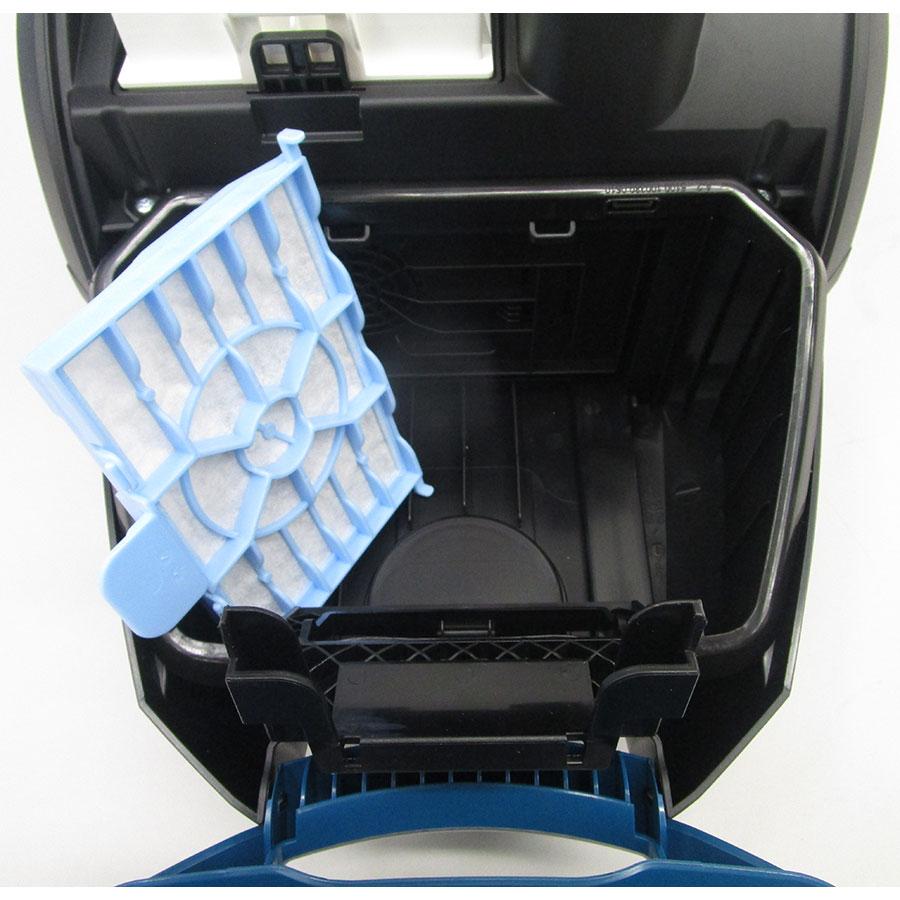 Bosch BGL25KMON MoveOn Mini - Filtre entrée moteur sorti