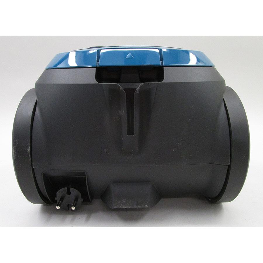 Bosch BGL25MON7 Mini MoveOn - Fixe tube arrière et sortie de câble