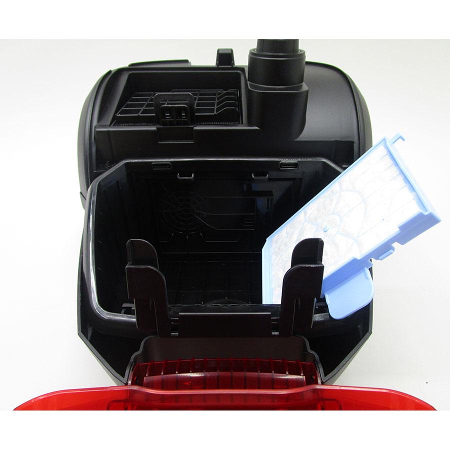 Bosch BGL2UB1108 GL-20 bag&bagless - Filtre entrée moteur sorti