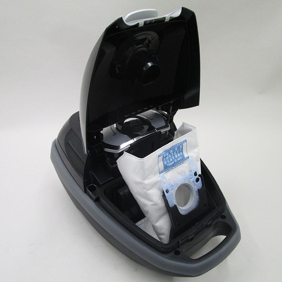 Bosch BGL85Q57 GL-85 In'genius - Sac à poussières sur son support