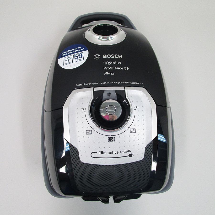 Bosch BGL8SIL2 GL-80 Ingenius - Vue de dessus