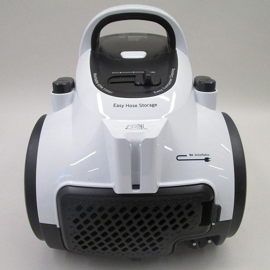 Bosch BGS05A222 GS05 Cleann'n - Fixe tube arrière et sortie de câble