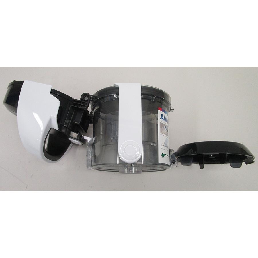 Bosch BGS05A322 GS05 Cleann'n - Réservoir à poussières ouvert