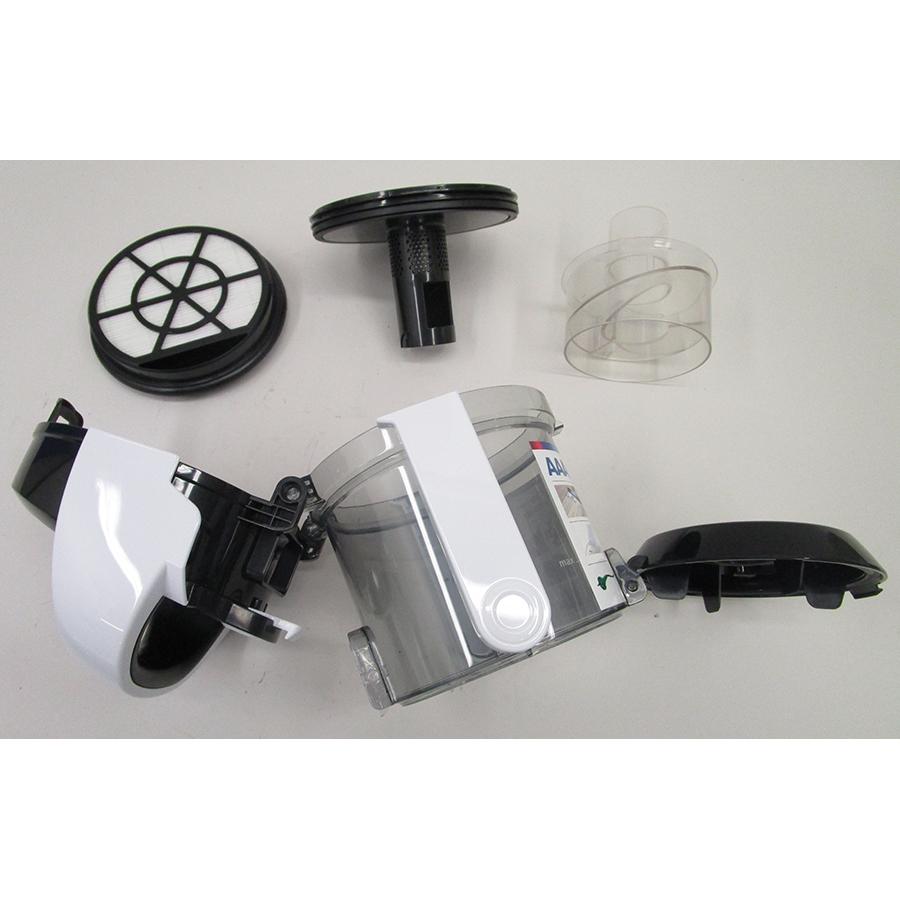 Bosch BGS05A322 GS05 Cleann'n - Réservoir à poussières avec son filtre sorti