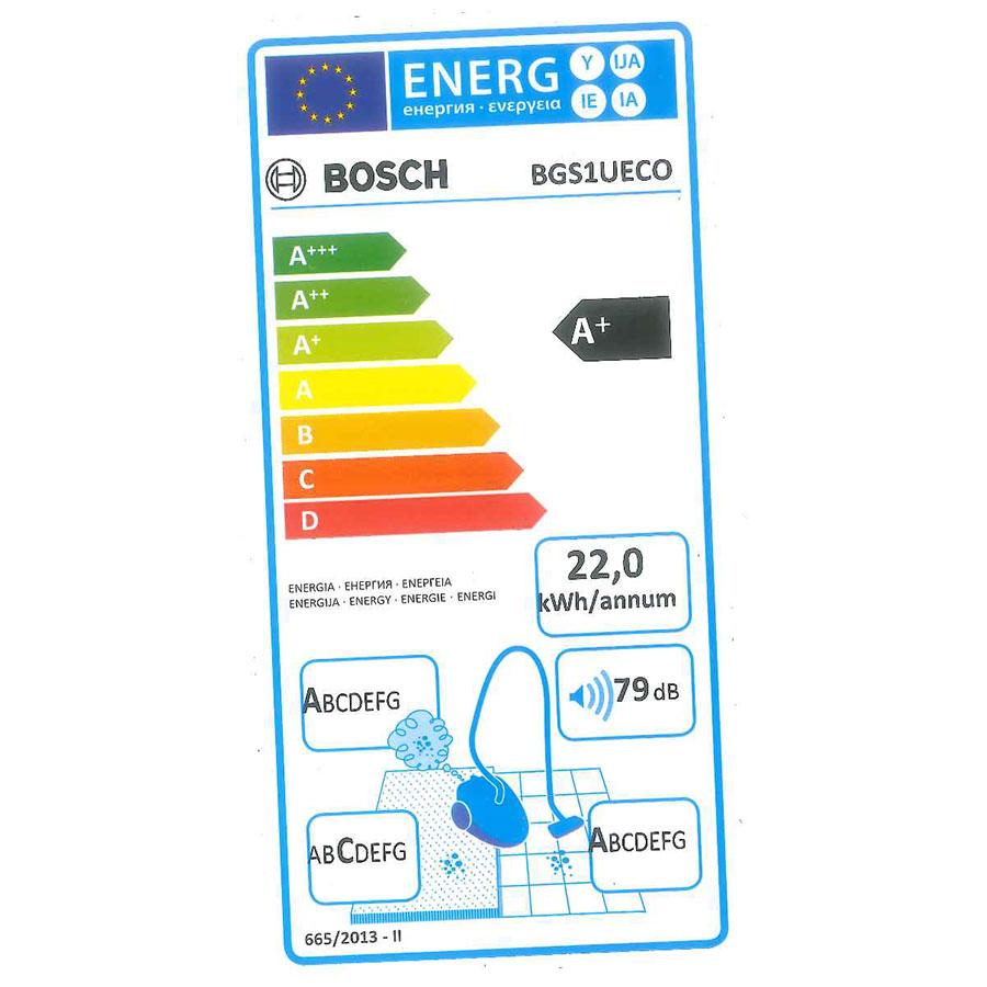 Bosch BGS1UECO - Étiquette énergie