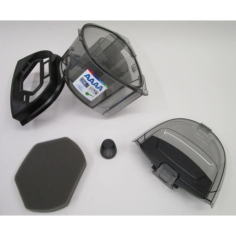 Bosch BGS1UPower GS-10 - Réservoir à poussières avec son filtre sorti