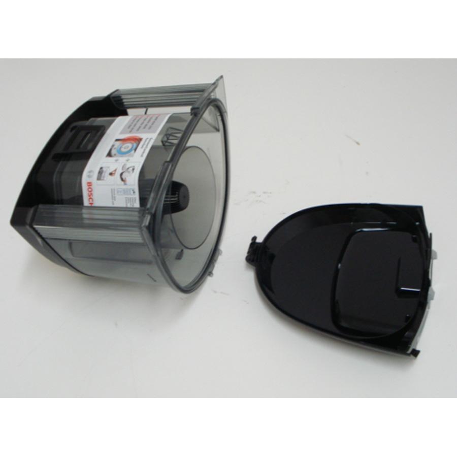 Bosch BGS2230 GS-20 Easyyy - Réservoir à poussières ouvert