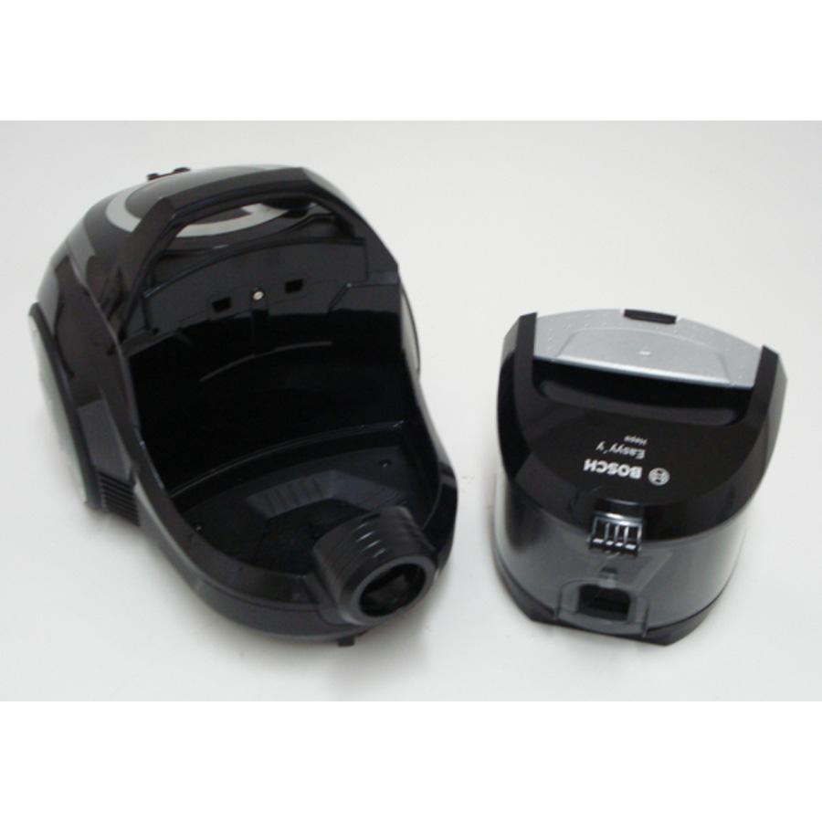 Bosch BGS2230 GS-20 Easyyy - Bac à poussières sorti