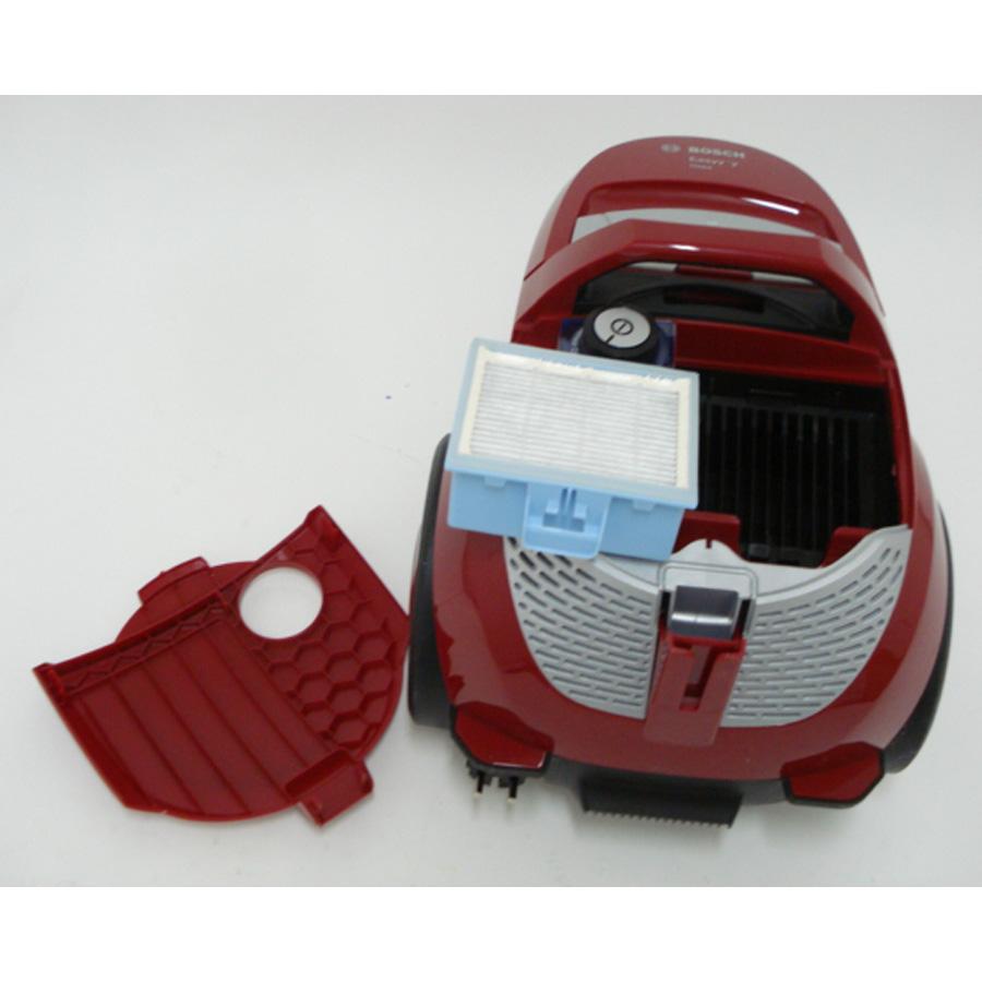 Bosch BGS2ALL4 Easyyy - Filtre sortie moteur sorti