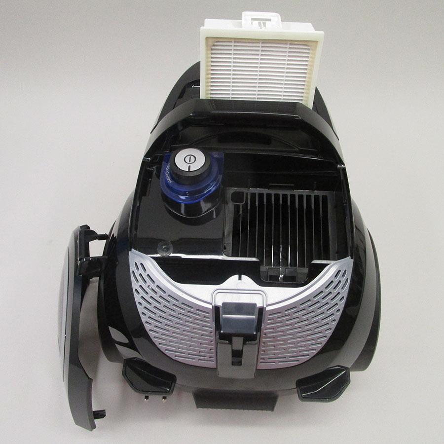 Bosch BGS2POW1 Easyy'y ProPower - Filtre sortie moteur sorti