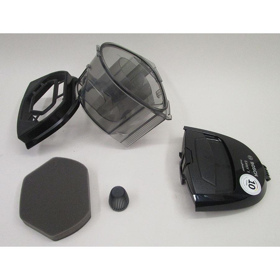 Bosch BGS2POW1 Easyy'y ProPower - Réservoir à poussières avec son filtre sorti