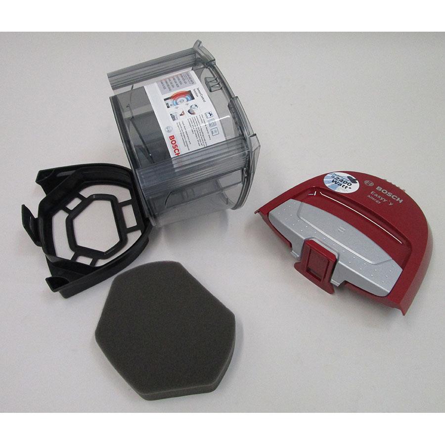 Bosch BGS2UALL2 GS-20 Easyy'y - Réservoir à poussières avec son filtre sorti