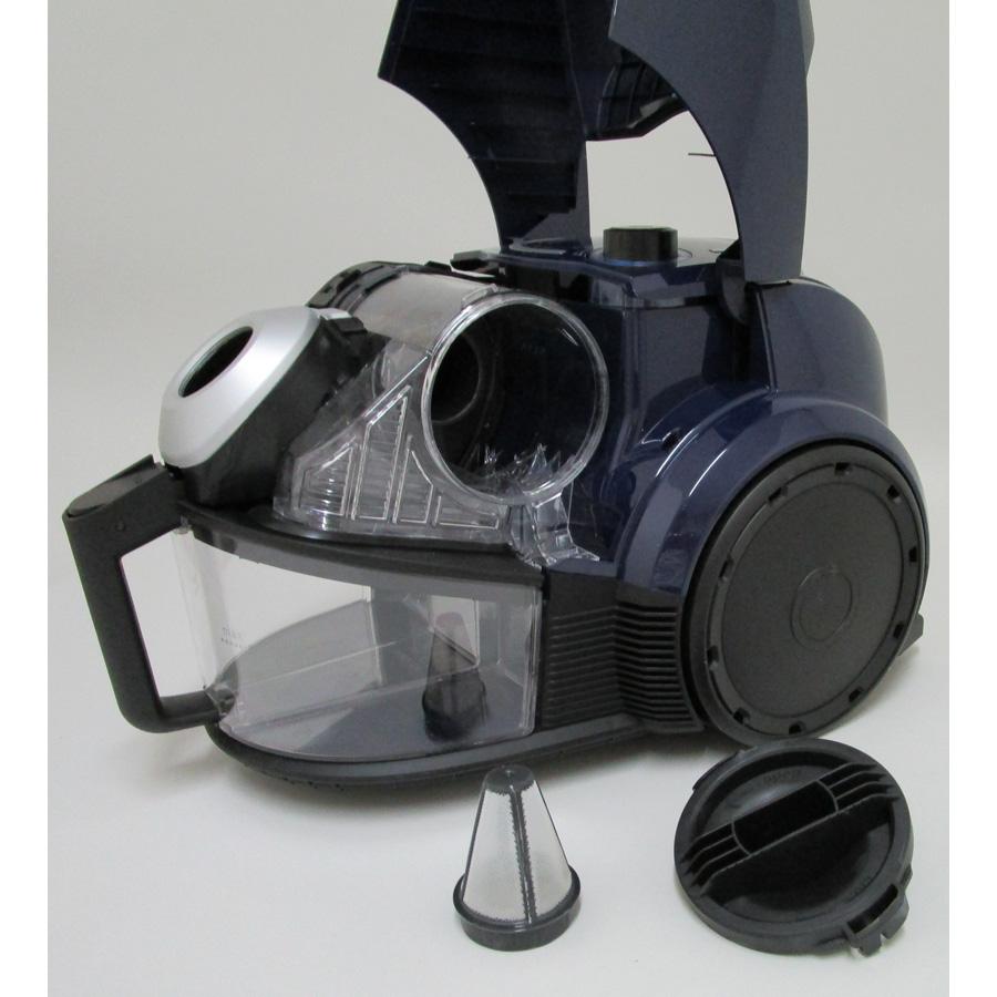 Bosch BGS3210 GS30 Relyyy - Réservoir à poussières avec son filtre sorti