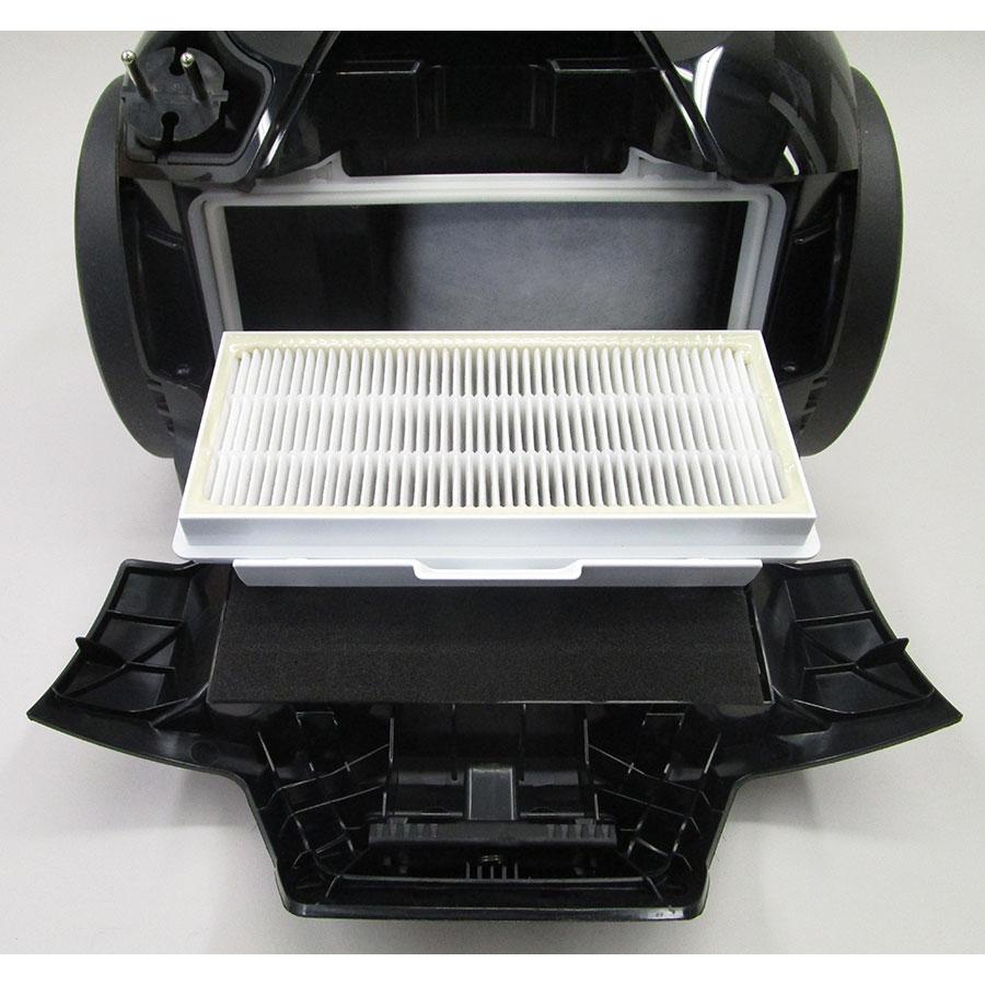 Bosch BGS41SIL66 ProSilence - Filtre sortie moteur sorti