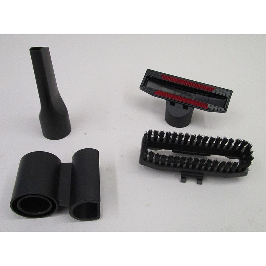 Bosch BGS5ECO66R Relaxx'x ProSilence66 - Accessoires livrés avec l'appareil