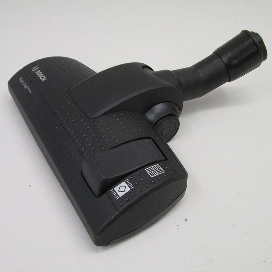Bosch BGS5KSILS Relaxx'x ProSilence66 - Brosse universelle : sols durs et moquettes