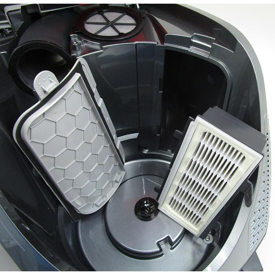 Bosch BGS5PERF GS-50 Relaxx'x - Filtre entrée moteur sorti
