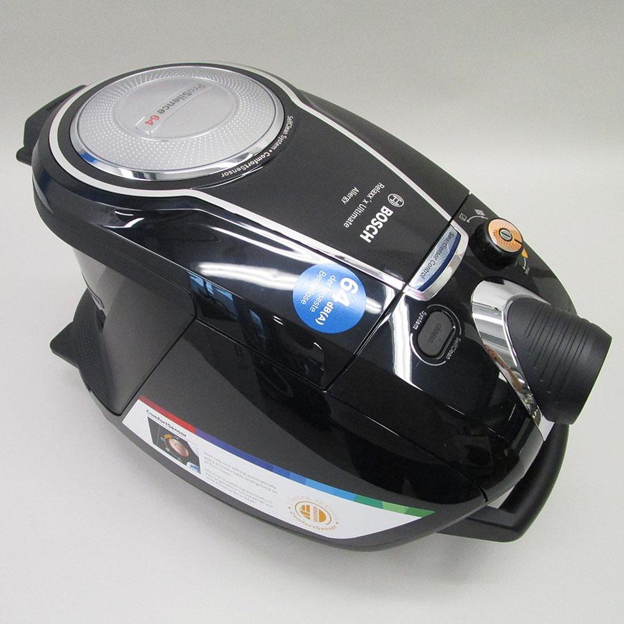 Bosch BGS7MS64 Relaxx'x Ultimate ProSilence64 - Corps de l'aspirateur sans accessoires